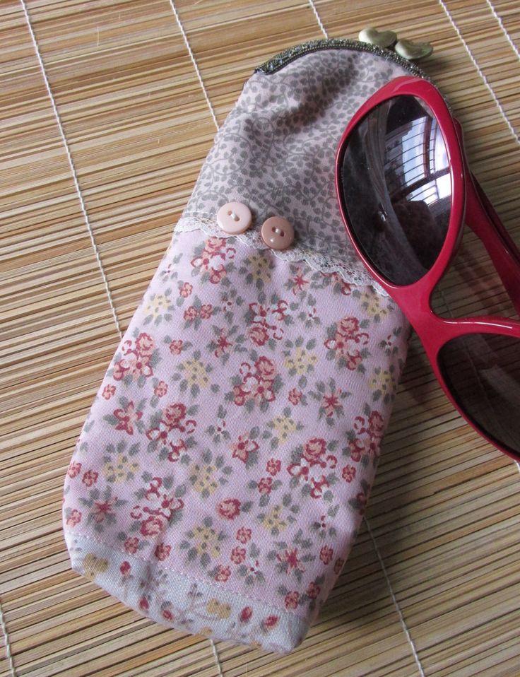 Porta culos bolsas e bolsinhas pinterest for Porta oculos