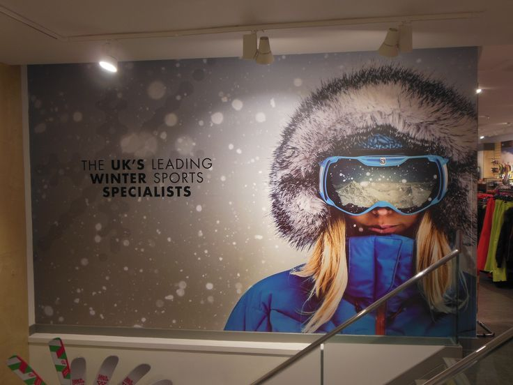 One of our favourite brand imagery from Snow+Rock, in the new Leeds store - November 2014