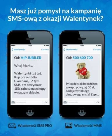 Specjalne pole nadawcy i pomysły na kampanie na Walentynki! #SMSAPI #MarketingSMS #Walentynki