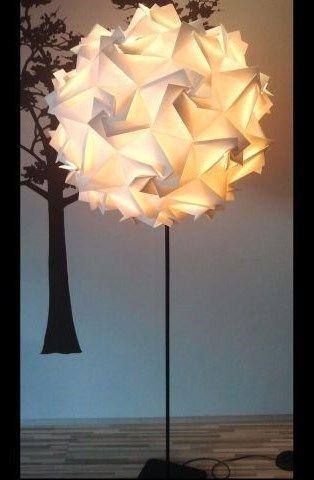 Podłogowa Lampa Origami