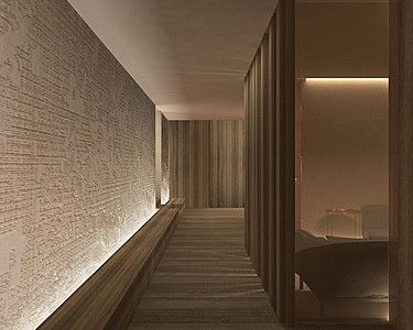 New Spa at Four Seasons Hotel Milano by architect Patricia Urquiola _