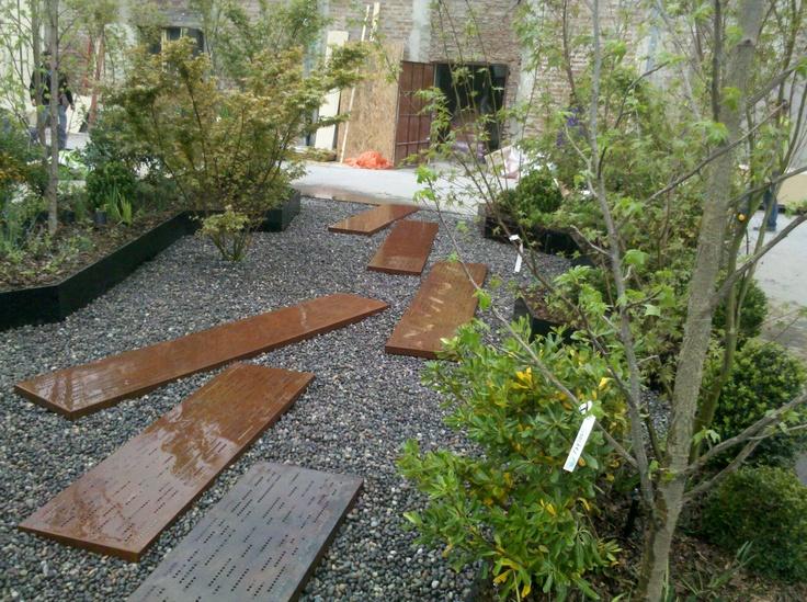 Muestra para casacor chile 2012 nombre jard n al paso for Jardines paisajistas