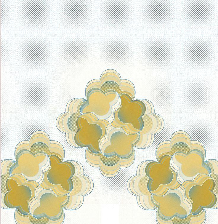 Flower Power #Print ! #golden @oozefina