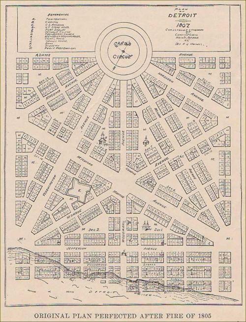 detroit map city