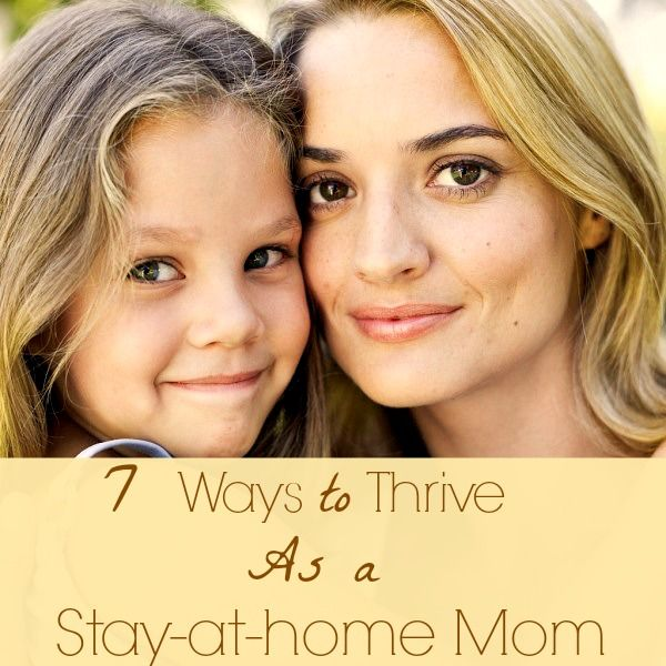 Have you lost your edge and inspiration? Check out these tips to help you thrive as a SAHM!