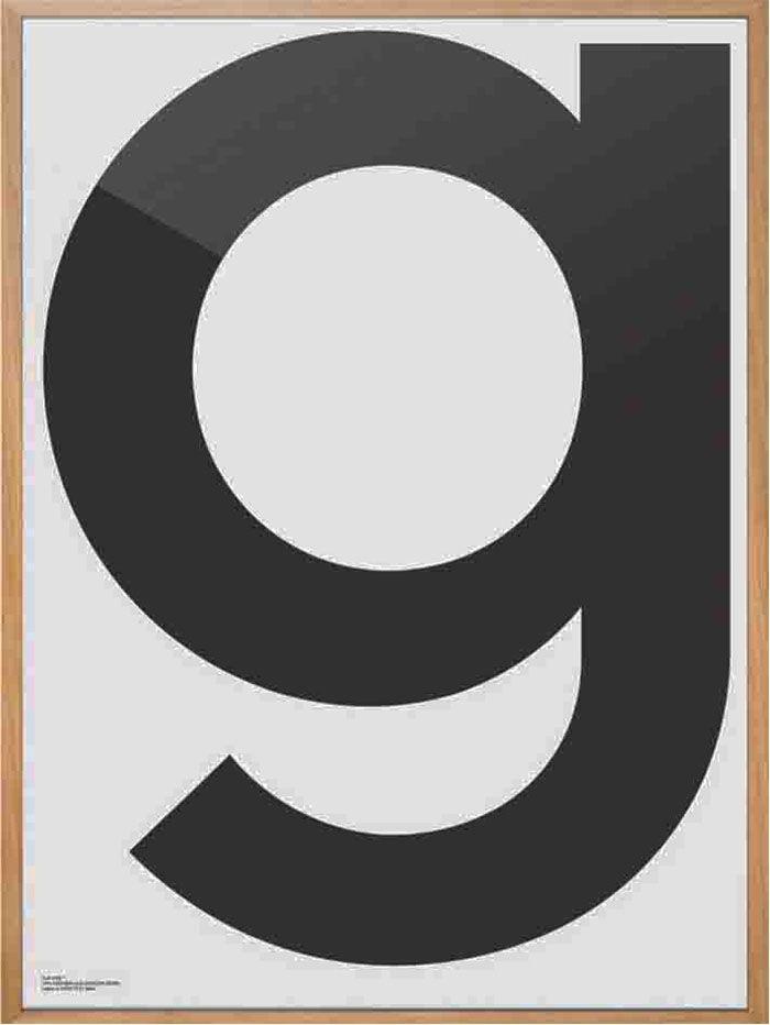 Plakat G - 250kr
