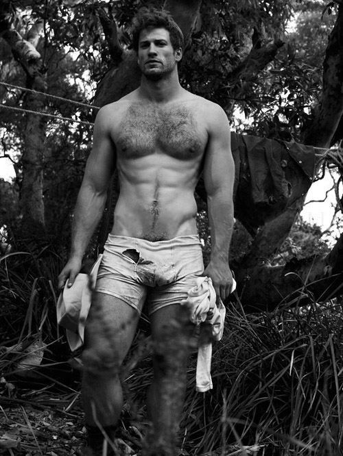 I'm not exactly sure who this is. But I'm 100% sure I'd like to know him. In the biblical sense...