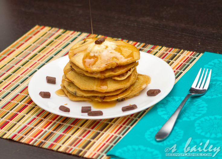 how to make chocolate chip pancakes like ihop