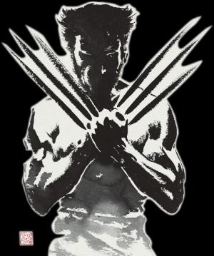 art founded in web - new movie Wolverine is comming soon