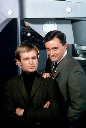 David McCallum and Robert Vaugn in Man From U.N.C.L.E. I still remember watching this as a kid.