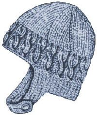 Child's Helmet Free Knitting Pattern - KarensVariety.com
