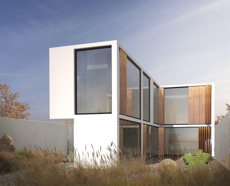 T3 - Residential - Navodari, Romania - TAG architecture #housing #residential #white #windows #urban #architecture