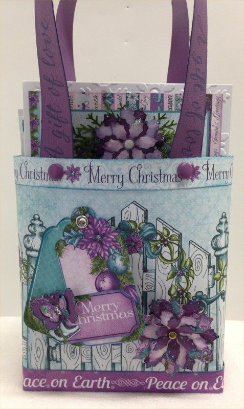 Fun Christmas Colours by ratbagdoona - Cards and Paper Crafts at Splitcoaststampers