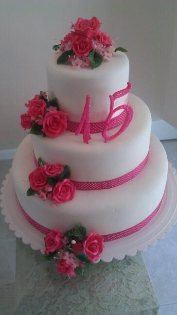 Quinceañera's cake #2                                                                                                                                                      Más