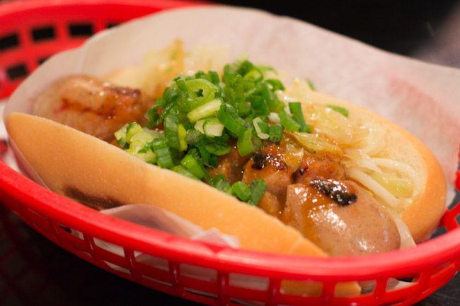 japadog hot dog - oh man, i want one now!