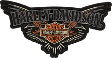 "Harley Davidson Sew on Patch / Emblem ""Pins Trip Ping"" Patch EM046643"