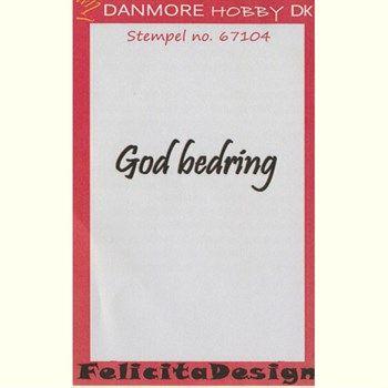 Clearstamp Felicita Design - God bedring