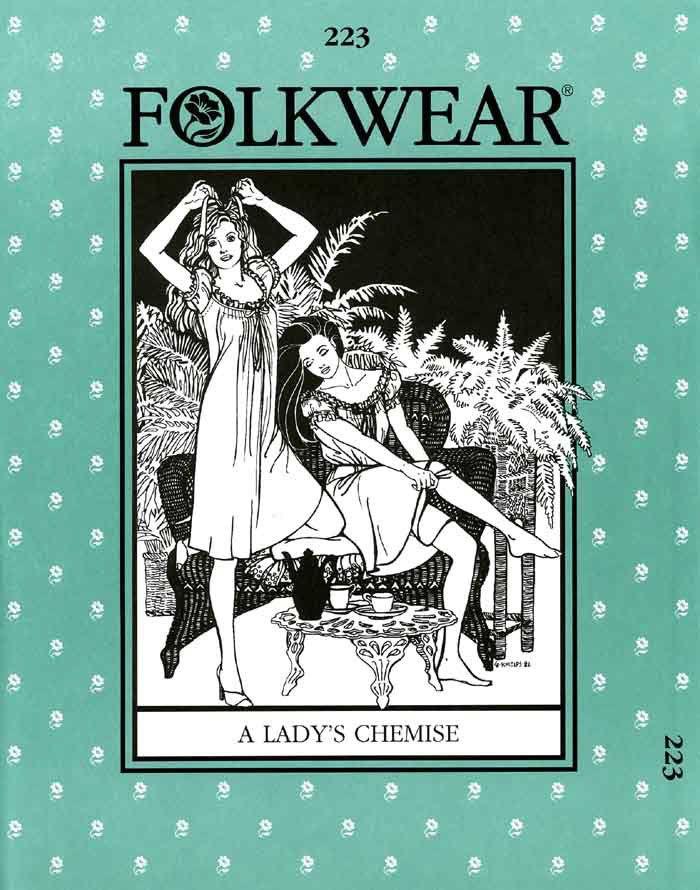 Patterns - Folkwear #223 - A Lady's Chemise
