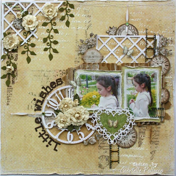 Little Wishes - Scrapbook.com www.majadesign.nu
