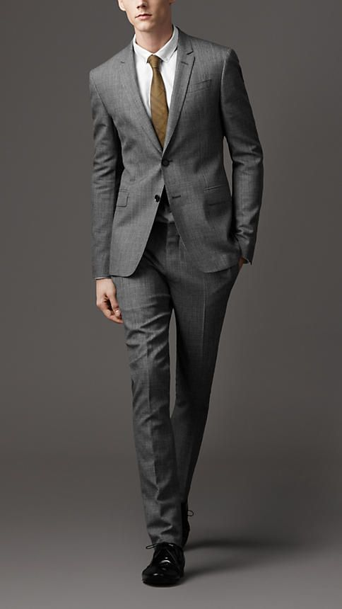 Best 25  Grey slim fit suit ideas on Pinterest | Fitted suits ...