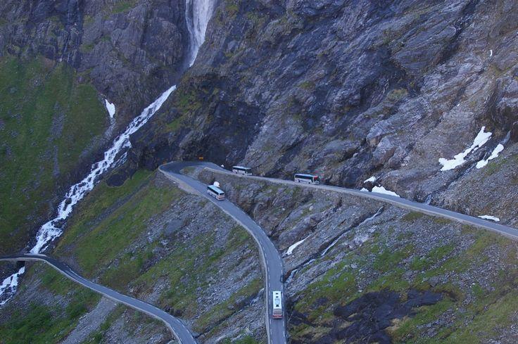 Trollstigen - dear troll in Norway. More photos: Wirtualna Norwegia pl