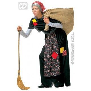 Kreupele Oude Heks Kostuum