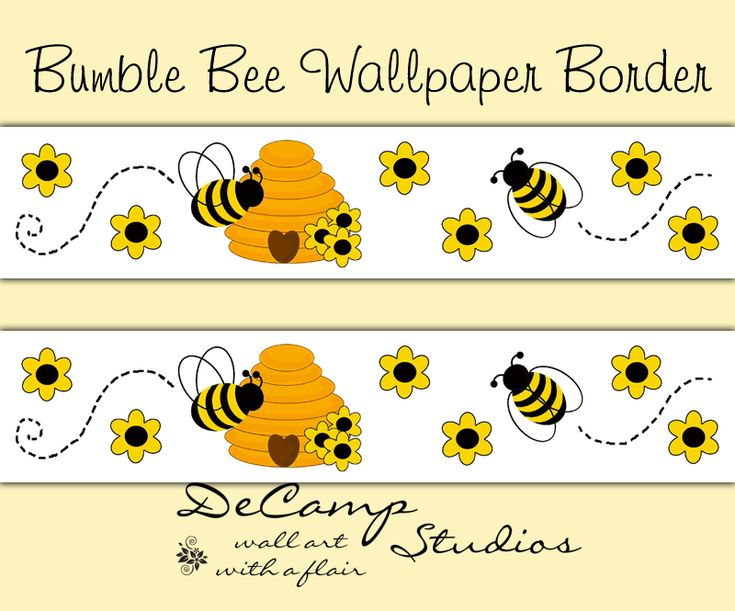Bumble Bee Wall Decals - Elitflat