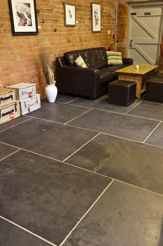 mrs stone store brazilian black natural riven large slate floor tiles 1200x900x10 2mm. Black Bedroom Furniture Sets. Home Design Ideas