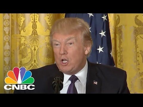 President Donald Trump: Must Work Together To Resolve Syria Situation | Closing Bell | CNBC - YouTube