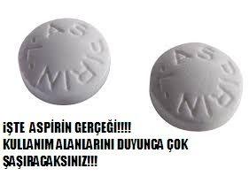 Aspirin gerçeği ve kullanım alanları