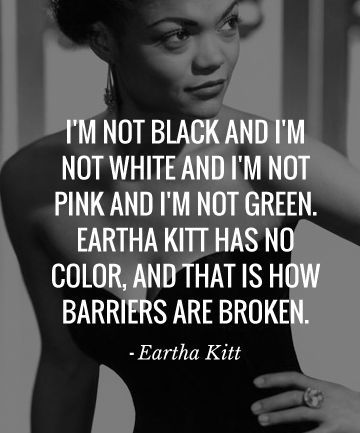 Happy Friday, and enjoy Eartha's brilliance.