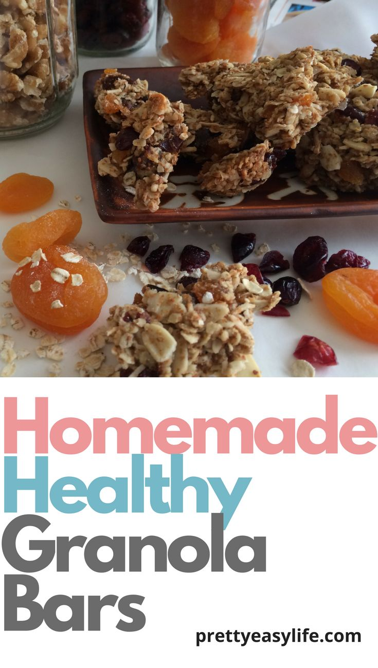 Stop your daily cravings with this super healthy home made granola bars. recipe of Inna Garten.