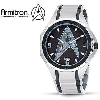 armitron men's 890004 star trek automatic limited edition