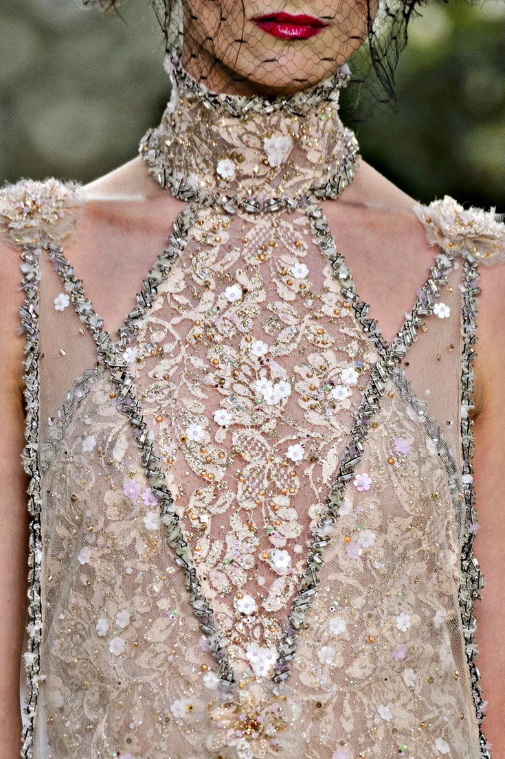 Chanel Spring-Summer 2018 Haute Couture - Detail