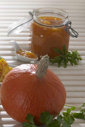 Lækker marmalade med det japanske græskar: Hokkaido