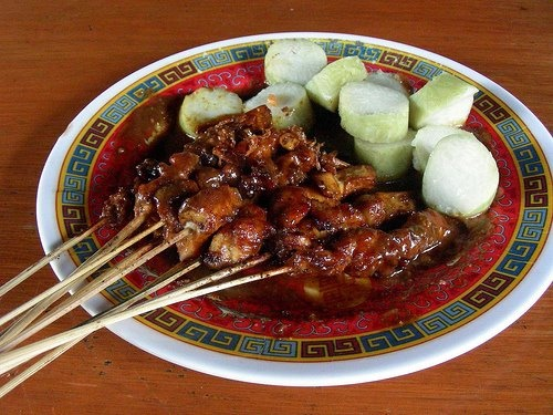 Chicken Satay - Indonesia  (Sate Ayam)