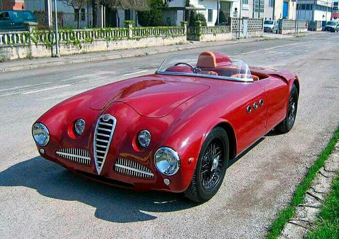 alfa romeo 1900 ss barchetta 1952 automotive design alfa barchetta 1900 #6