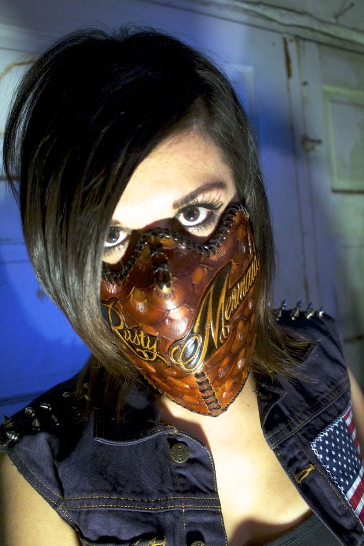 Asylum Leather works - biker mask