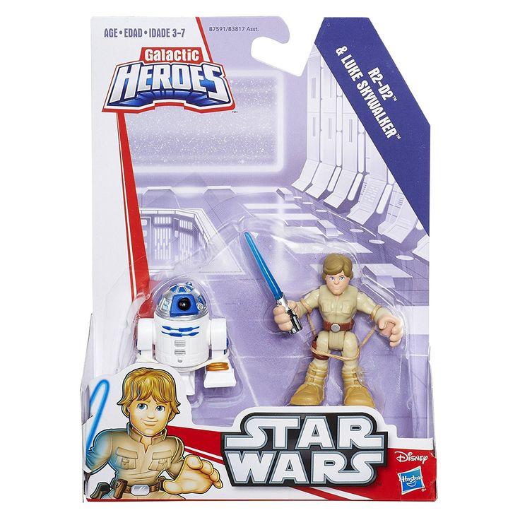 Playskool Heroes Star Wars Galactic Heroes R2-D2 & Luke Skywalker