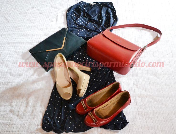 #outfit dal sapore anni '40 #H H & M scarpe #Bata http://sposiamocirisparmiando.com/outfit-invitata-matrimonio-parte-terza.html