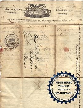 Mexican-American war letters