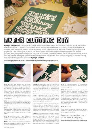 paper cutting tutorial