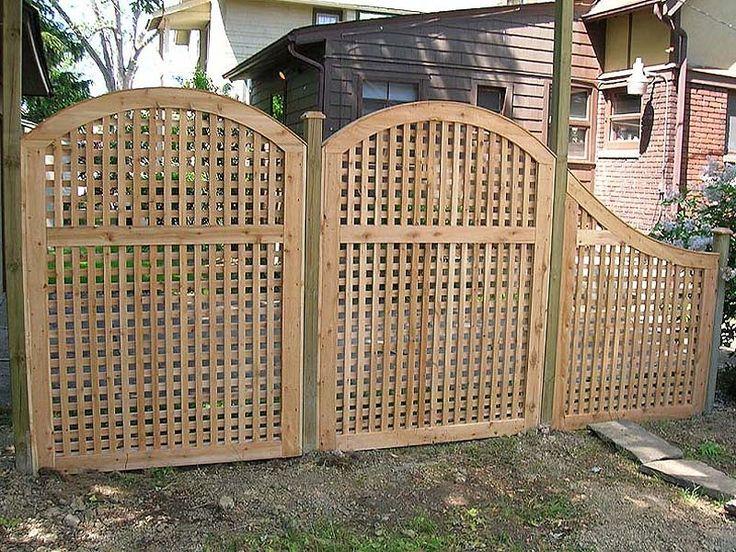 Inexpensive lattice privacy fence ideas http for Lattice ideas