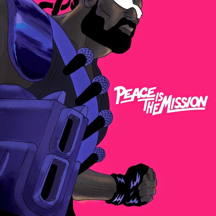 Major Lazer x Ferry Gouw x « Peace Is The Mission » : du Major belliqueux au Major pacifié.  #Pochette #Artwork #MajorLazer