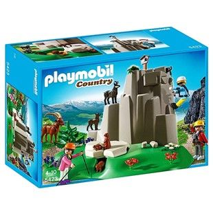PLAYMOBIL ΑΝΑΡΡΙΧΗΤΕΣ ΜΕ ΖΩΑ ΤΟΥ ΒΟΥΝΟΥ  (5423)