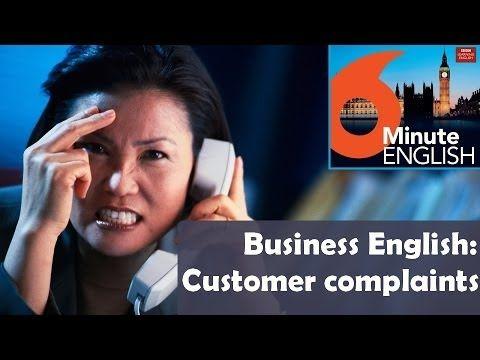 BBC 6 Minute Business English - Customer complaints: What should you say if you want to complain about something? And what should you say if you receive a complaint? Join Feifei and Neil as Business Betty coaches them through a complaining role-play - and improve your customer service skills.