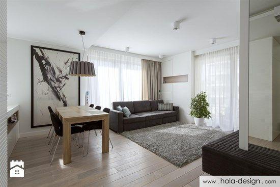 Salon styl Minimalistyczny - zdjęcie od HOLA DESIGN