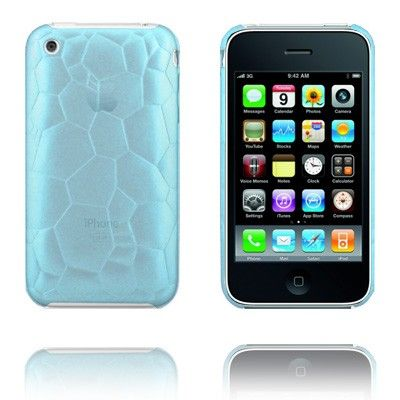 Web Shell (Transparent Blue) iPhone Case for 3G/3GS