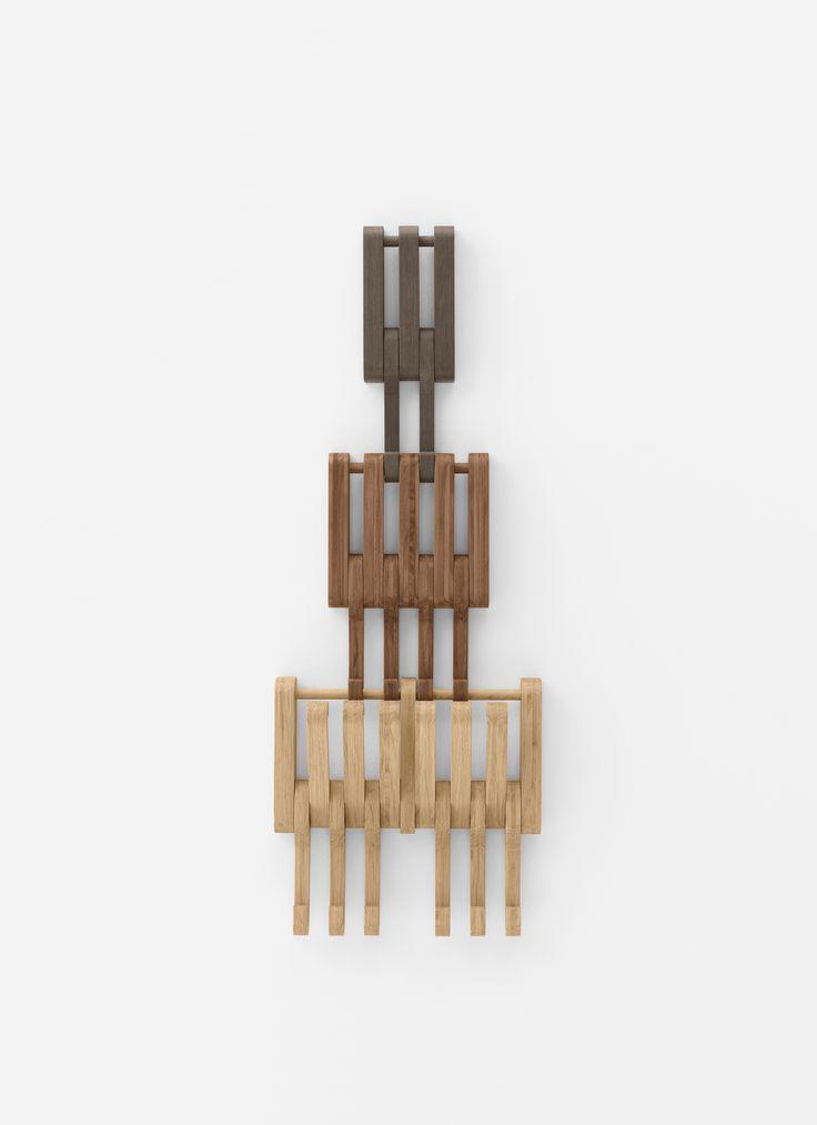 #Hidden.  #clothes-hanger #clothes #hanger #wood #functional #nice #design #japanese #japanesedesign #designer #designlove #designer #designlovers