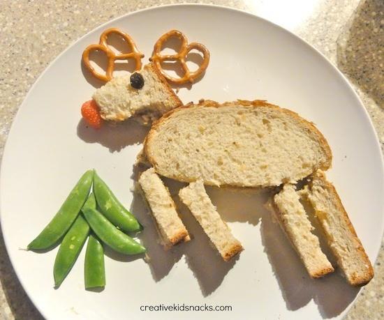 cute kids snacks | Creative Kid Snacks: Healthy Christmas Snacks for the Kids